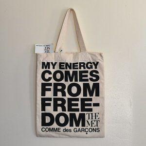 Comme des Garçons x The MET canvas bag